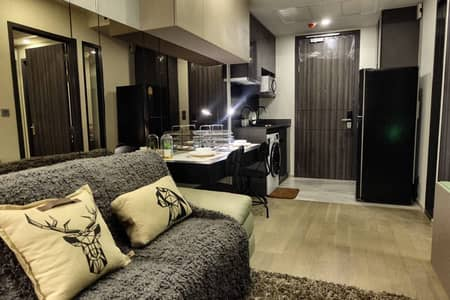 1 Bedroom Condo for Rent in Khlong Toei, Bangkok - Condo for rent in the middle of the city, next to the BTS, luxurious decoration, Fully Furnish, Aston Asoke project