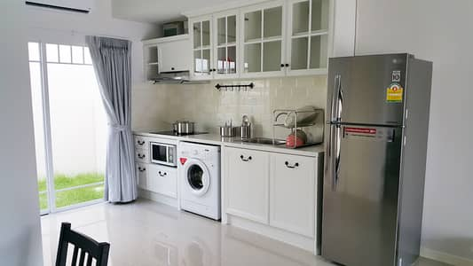 2 Bedroom Townhouse for Rent in Bang Phli, Samutprakan - Townhome for Rent at INDY Bangna km. 7 Nearly MegaBangna- IKEA in 2 min