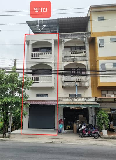 Commercial Building for Sale in Mueang Nakhon Si Thammarat, Nakhonsithammarat - 4 storey commercial building for sale, excellent location, next to Phatthanakan Khu Kwang Rd. near Sampeng, Muang Nakhon Nakhon Si Thammarat Province