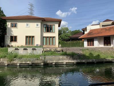 4 Bedroom Home for Rent in Pak Kret, Nonthaburi - House for rent, Grand Canal, Prachachuen Road.