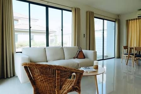 3 Bedroom Home for Rent in Bang Khun Thian, Bangkok - 2 storey house for rent Near Central Rama 2, Habitia Park, Thienthale 28 Habitia Park Tienthale 28