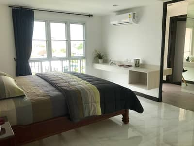 2 Bedroom Apartment for Rent in Phra Khanong, Bangkok - Newly built guesthouse for rent, Penthouse-style room, size 80 sq m. , 2 bedrooms, 3 bathrooms, complete facilities. with parking 36 D. well Sukhumvit 101/1