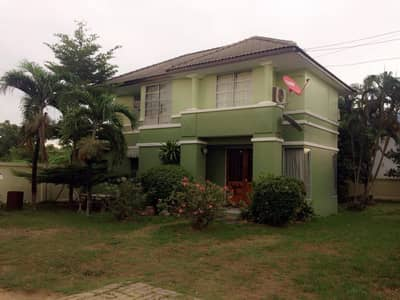 3 Bedroom Home for Rent in Nong Chok, Bangkok - Cheap rent, single house, Royal Park Ville Village, 169 sq m, large house, lots of space, good value, good price, Suwinthawong location, Lam Phak Chi, Nong Chok