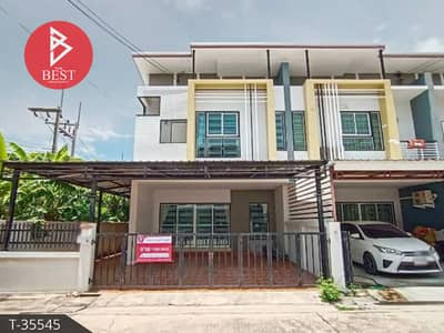 3 Bedroom Townhouse for Sale in Mueang Chon Buri, Chonburi - Townhouse for sale Arinsiri Country Hill (Arinsiri Country Hill), Chonburi.