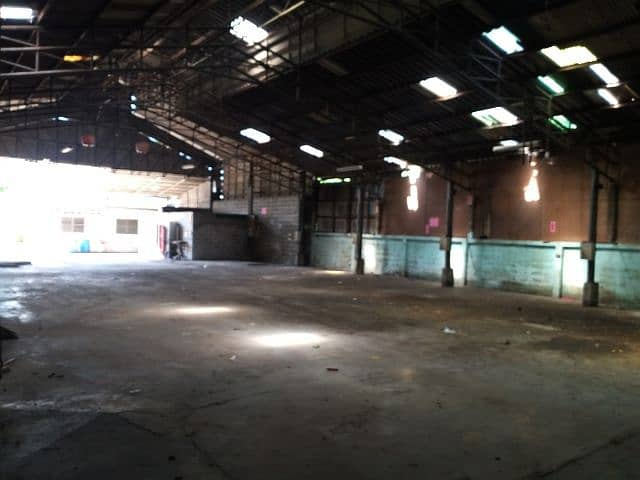 Factory and warehouse for rent in Suksawat area 30 Rat Burana
