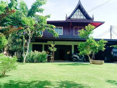 2 Bedroom Home for Sale in Wiset Chai Chan, Angthong - Thai style detached house for sale. cheaper than suv