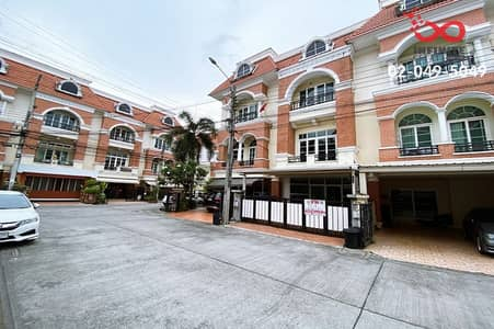 4 Bedroom Townhouse for Sale in Bueng Kum, Bangkok - 3-storey townhome for sale, Casa City Village, Ladprao, Pradit Manutham Road. Soi Yothin Phatthana 3 Near Ramintra-At Narong Expressway