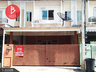 3 Bedroom Townhouse for Sale in Mueang Nonthaburi, Nonthaburi - Townhouse for sale Pruksa Town Village, Ratchaphruek, Bang Krang, Nonthaburi, ready to move in
