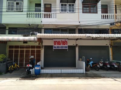 Commercial Building for Sale in Wang Thonglang, Bangkok - Commercial building for sale, 2.5 floors, 20 sq. wa. , Prachathai Village. Soi Ladprao 93, Ladprao Road, Bang Kapi District, price 3.65 million baht. Newly decorated, ready to move in (Near Lad Phrao Hospital BTS Station)