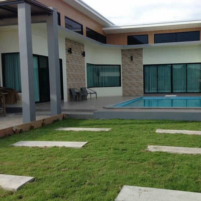4 Bedroom Home for Rent in Sattahip, Chonburi - cheap rent with swimming pool
