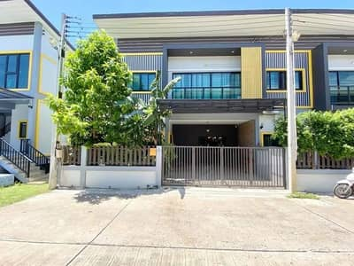 3 Bedroom Townhouse for Sale in Mueang Rayong, Rayong - 2 storey townhome for sale, loft style, Noen Phra, Rayong.