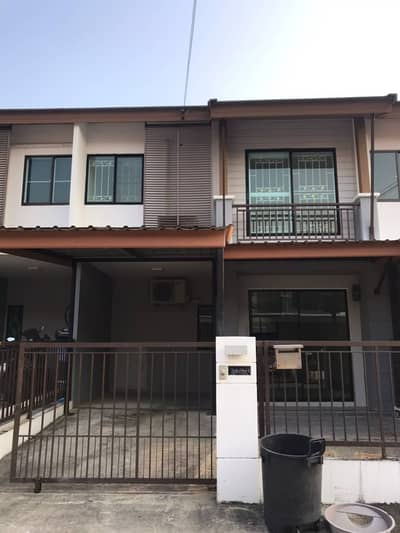 3 Bedroom Townhouse for Sale in Suan Luang, Bangkok - Sale with tenants Townhouse Pruksa Ville 73 Soi Phatthanakan 38.