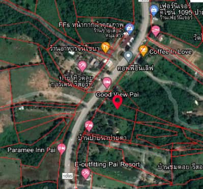 Land for Sale in Pai, Maehongson - Pai Land, Golden Location