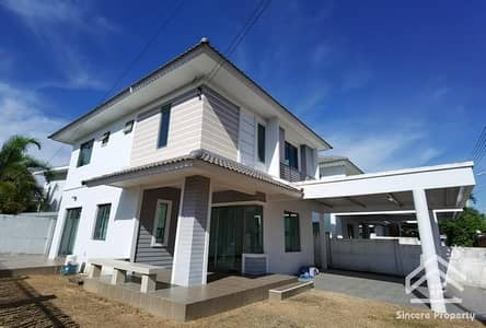 3 Bedroom Home for Sale in Bang Lamung, Chonburi - Sale Life Garden Home Rong Pod, special price, cheaper than the purchase price.
