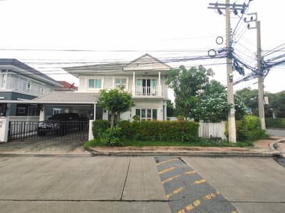 3 Bedroom Home for Sale in Bang Yai, Nonthaburi - Cheapest sale in the project, Detached House, Perfect Park, Rama 5-Bang Yai, 63 sq m, behind the corner, Main Road, beautiful house, good value, good price, location, Central Plaza West Gate, near the Ring Road Expressway, the Purple Line.