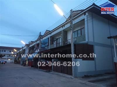 3 Bedroom Townhouse for Sale in Phan Thong, Chonburi - Townhouse 2 floors 21.3 sq. w. The One Village Amphur Phanthong, Chonburi Province