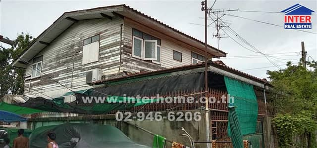 5 Bedroom Home for Sale in Mueang Nonthaburi, Nonthaburi - House 2 floors 41 sq. w. Near Wat Bang Phraek Nuea Soi Bypass Mueang Non 7 Rattanathibet Road