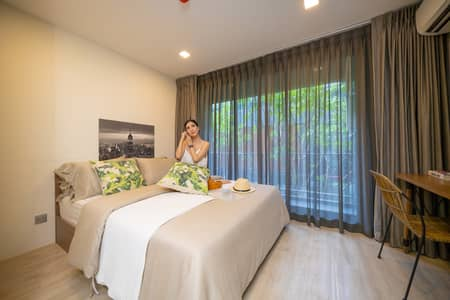 1 Bedroom Condo for Sale in Lat Phrao, Bangkok - Condo for sale, ready to move in, 1st hand, very good atmosphere, river view, Atmoz Ladprao 71, special price only Harrison
