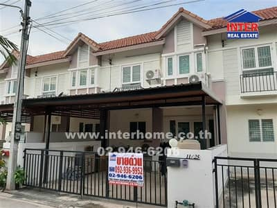 3 Bedroom Townhouse for Sale in Mueang Samut Songkhram, Samutsongkhram - Townhouse 2 floors 21.4 sq. w. Fueng Fah Village Mueang Samut Songkhram Province