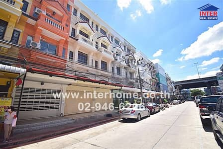 8 Bedroom Office for Sale in Lam Luk Ka, Pathumthani - Commercial building 4 floors 36 sq. w. Color phrase village in four corners of the city Phahonyothin Road