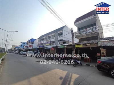 2 Bedroom Office for Sale in Sattahip, Chonburi - Commercial building 2 Khuha 40 sq. w. Near Wat Luang Pho E, Sattahip Sattahip District, Chonburi Province