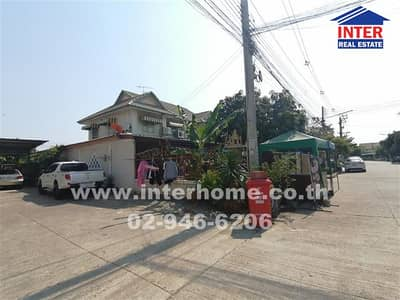 3 Bedroom Home for Sale in Bang Nam Priao, Chachoengsao - Twin house 2 floors (Lang Mum) 49 sq. w. Pruksa Village 24 Bang Nam Priao District, Chachoengsao Province