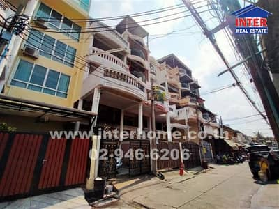 5 Bedroom Office for Sale in Din Daeng, Bangkok - Commercial building 5.5 floors 23 sq. w. Near Central Rama 9 Soi Hemwong, Ratchadaphisek Road