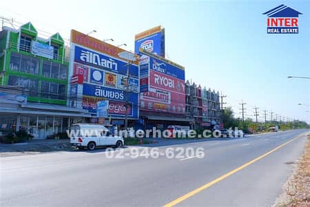 6 Bedroom Office for Sale in Mueang Chachoengsao, Chachoengsao - Commercial building 5 Khuha 110 sq. w. Near the village Prim, The Resident Ville Mueang Chachoengsao District, Chachoengsao Province