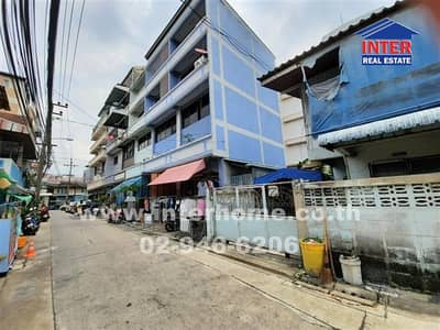 4 Bedroom Office for Sale in Din Daeng, Bangkok - Commercial building 4.5 floors 22 sq. w. Near the train market Ratchada Soi Suburb 10 Ratchadaphisek Road