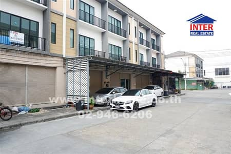 3 Bedroom Office for Sale in Thung Khru, Bangkok - Commercial building 3 floors 19.4 sq. w. The Connect Village Soi Wichian 25, Suksawat Road