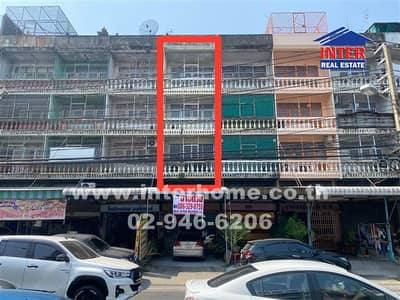 4 Bedroom Office for Sale in Mueang Nonthaburi, Nonthaburi - Commercial building 4 floors 28 sq. w. Near MRT Ministry of Public Health Khae Rai Intersection, Soi Rewadee, Tiwanon Road