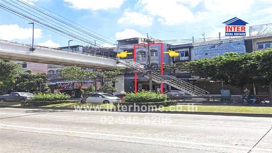 3 Bedroom Office for Sale in Bueng Kum, Bangkok - 3-storey commercial building 23 sq. w. near the brown train boarding point Between Soi Nawamin 34-36, Nawamin Road