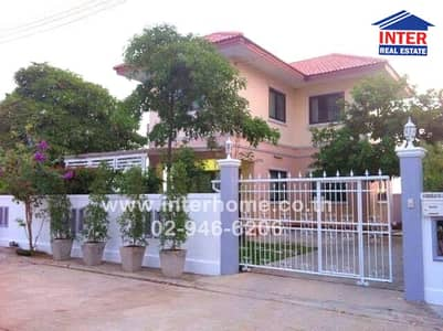 3 Bedroom Home for Sale in Lat Lum Kaeo, Pathumthani - 2 storey detached house 53 sq. w. Arisara Village 3 Phase 2 Khlong Phra Udom Road