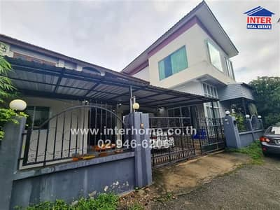5 Bedroom Home for Sale in Mae Rim, Chiangmai - 2 storey detached house 120.8 sq. w. At the entrance of the alley there is a Makro department store, Mae Rim branch. Soi Ban Hong Fai Chiang Mai-Fang Road