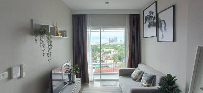 1 Bedroom Condo for Rent in Mueang Nonthaburi, Nonthaburi - Contemporary 1-BR Condo at Amber By Eastern Star