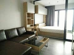 1 Bedroom Condo for Rent in Mueang Nonthaburi, Nonthaburi - Spectacular High Rise 1-BR Condo at Politan Rive