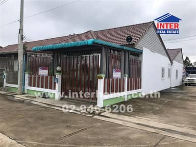 2 Bedroom Home for Sale in Nong Yai, Chonburi - Twin house 1 floor 22.4 sq. w. Sap Anan Village and Town Nong Yai District, Chonburi Province