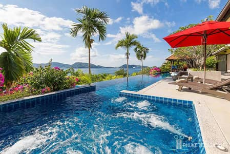 4 Bedroom Home for Sale in Kathu, Phuket - Indochine Pool Villa Overlooking Patong Bay