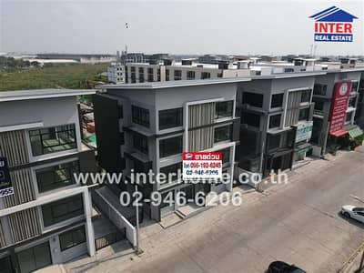 4 Bedroom Office for Sale in Lat Krabang, Bangkok - 4-storey home office 43.4 sq. w. 5th Avenue Village Soi Chalong Krung 31, Chalong Krung Road