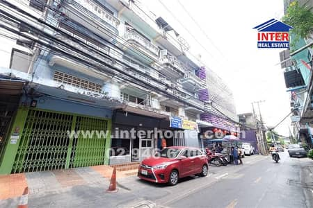 6 Bedroom Office for Sale in Bang Phlat, Bangkok - Commercial building 4.5 floors 21 sq. w. Near Central Pinklao Soi Charansanitwong 85 Charansanitwong Road