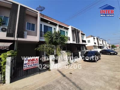 2 Bedroom Townhouse for Sale in Mueang Samut Sakhon, Samutsakhon - Townhouse 2 floors 17.5 sq. w. Bangthorad house project Rama 2 Road