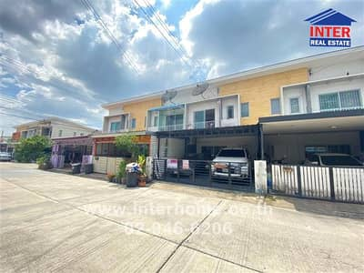 3 Bedroom Townhouse for Sale in Chom Thong, Bangkok - 2 storey townhouse 22.8 sq. w. The Connect Village Soi Rama 2, Soi 25, Suksawat Road