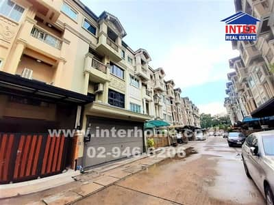 4 Bedroom Townhouse for Sale in Yan Nawa, Bangkok - Town home 4 floors 23.2 sq. w. Golden Village Home Park Ville 1 Soi Rama 3, Rama 3 Road