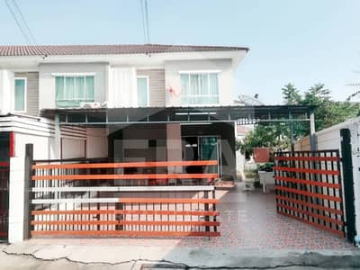 3 Bedroom Townhouse for Sale in Bang Lamung, Chonburi - Quick sale! 2-storey townhouse, Pruksa Ville 71, behind the corner, area 41.7 sq. wa.