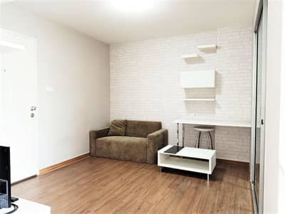 1 Bedroom Condo for Rent in Yan Nawa, Bangkok - For rent The Trust Ratchada Rama 3 only 7,000 baht. Size 29 sq m. ** Floor 7 * Fully furnished. **Good location condo Opposite Central Rama 3 **Near the expressway** Near the market **You can see the room every day**
