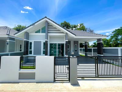3 Bedroom Home for Sale in Mueang Chiang Mai, Chiangmai - 🏡New House🏡 (Start 2.42-2.88M) Pa Daet/Near Ping River, Mueang, Chiangmai