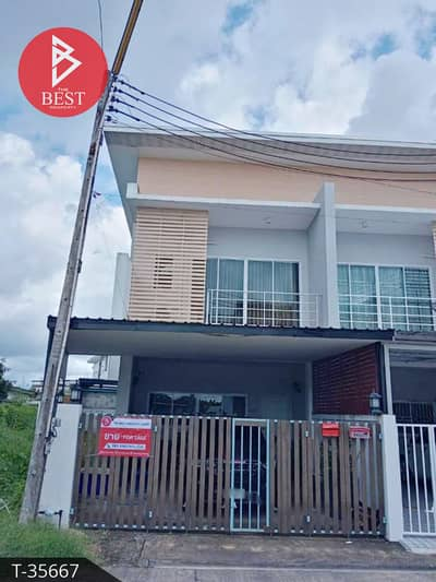 2 Bedroom Townhouse for Sale in Mueang Chanthaburi, Chanthaburi - Townhome for sale Phumchan Property Plubpla Chanthaburi.