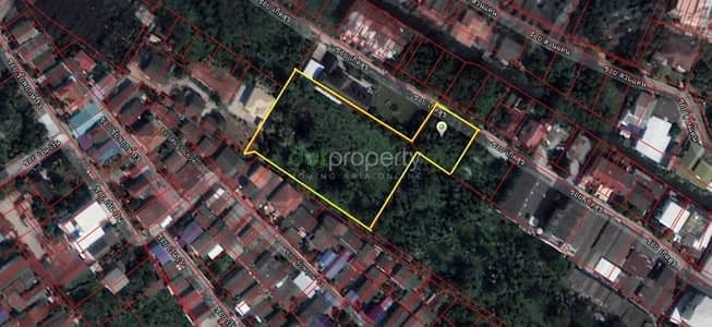 Land for Sale in Taling Chan, Bangkok - Land for sale on Chaiyapruek Road, orange plan, Yor. 6-15, easy to travel in and out, near the expressway, Borommaratchachonnani Road