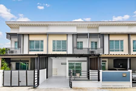 3 Bedroom Townhouse for Sale in Bang Kruai, Nonthaburi - Newly renovated second-hand house Pleno Pinklao-Wongwaen (Soi Wat Som Kliang) lower than the appraisal