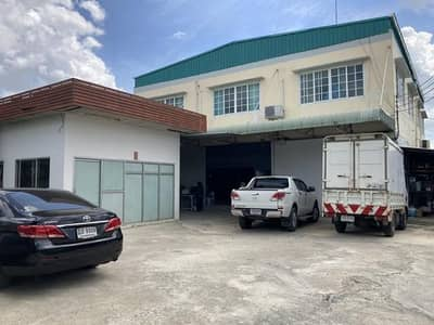 Factory for Rent in Thawi Watthana, Bangkok - Warehouse and office for rent in Phutthamonthon Sai 3 area, Thawi Watthana District, price 45,000 baht, usable area 540 sq m.